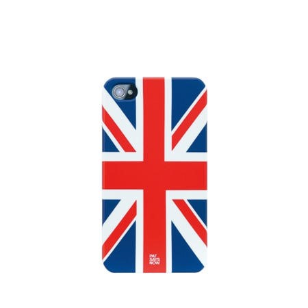 Pat Says Now iPhone 4 Case - UK Flag