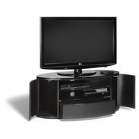 "Techlink Ellipse+ EL3 Elliptical TV Cabinet Black for up to 55"" TVs"