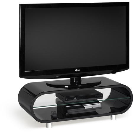 "Techlink OV95 Ovid TV and HiFi Stand for up to 50"" TVs - Black"