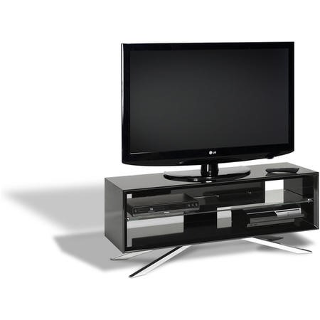 "Techlink AA110B Arena TV Stand for up to 55"" TVs - Black"