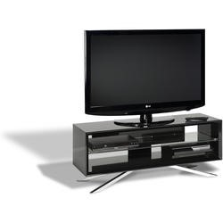 "Arena AA110B elegantly designed AV unit for screens up to 50"" max weight 50kg - Piano black carcass"