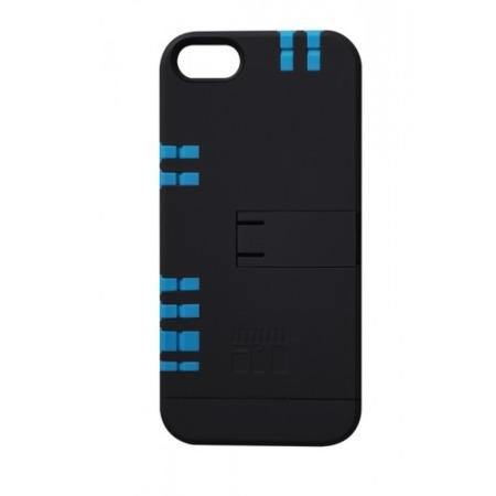 IN1 Case for iPhone 5/5s BLACK CASE / BLUE TOOLS