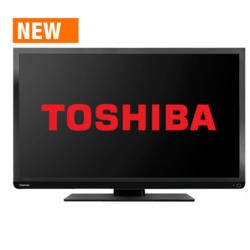 GRADE A2 - Light cosmetic damage - Toshiba 32W1333 32 Inch Freeview LED TV