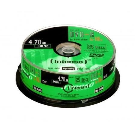 Intenso DVD-R 16x 25pk Spindle
