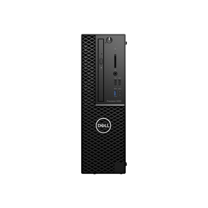 Dell Precision 3430 Core i7-8700 16GB 256GB Windows 10 Pro Workstation PC