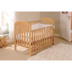 East Coast Anna Dropside Cot in Antique