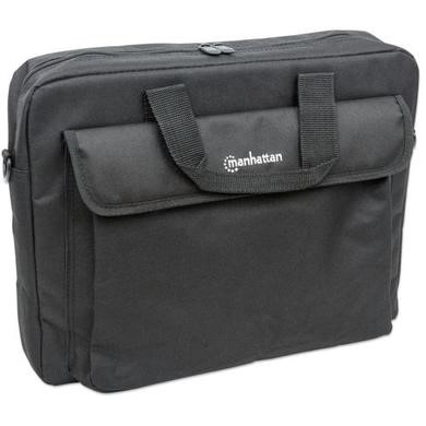 "438889 Manhattan 15.6"" London Notebook Bag in Black"