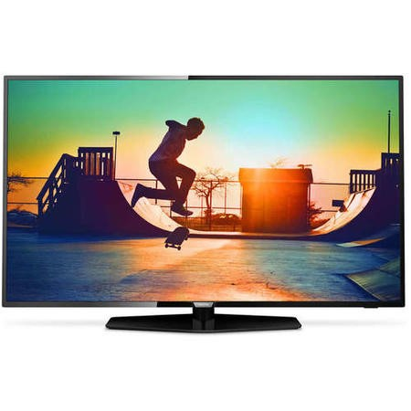 "GRADE A2 - Philips 55PUS6162 55"" 4K Ultra HD HDR LED Smart TV"