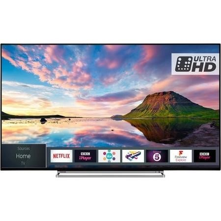 "43U5863DB Toshiba 43U5863DB 43"" 4K Ultra HD Dolby Vision HDR LED Smart TV with Freeview Play and Freeview HD"