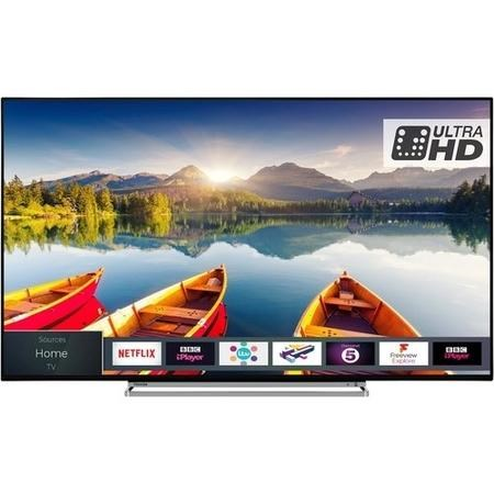 "Refurbished Toshiba 49U5863DB 49"" 4K Ultra HD Smart LED TV"