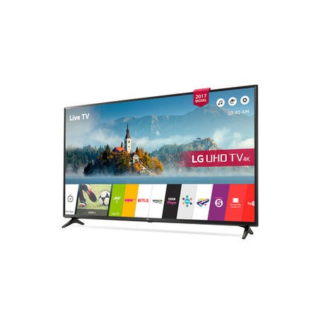 "LG 49UJ630V 49"" 4K Ultra HD HDR LED Smart TV with Freeview Play"