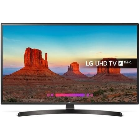 "GRADE A2 - LG 65UK6470PLC 55"" 4K Ultra HD Smart HDR LED TV with 1 Year Warranty"