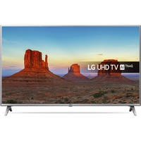 "LG 75UK6500PLA 75"" 4K Ultra HD HDR LED Smart TV with Freeview HD and Freesat"