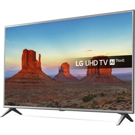 "LG 43UK6500PLA 43"" 4K Ultra HD HDR LED Smart TV with Freeview HD and Freesat"