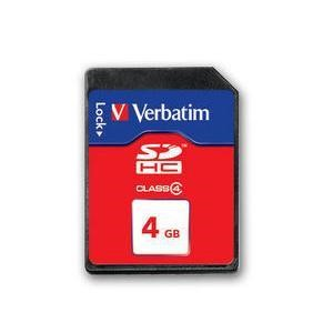 Verbatim 4GB SecureDigital SDHC Class 4