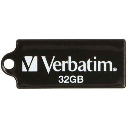 Verbatim Micro 32GB USB 2.0 Memory Stick - Black
