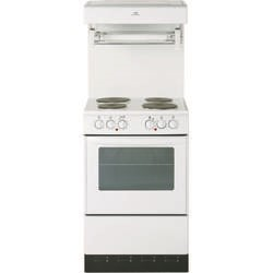 New World NW 50HLGE 50cm Single Cavity Electric Cooker in White