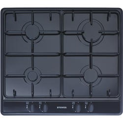 Stoves SGH600E 60cm Gas Hob in Black