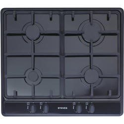 Stoves SGH600C 60cm Gas Hob in Black
