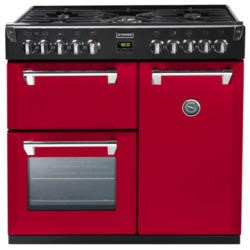Stoves Richmond 900DFT Colour Boutique 90cm Dual Fuel Range Cooker - Hot Jalapeno