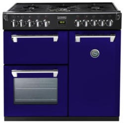 Stoves Richmond 900DFT Colour Boutique 90cm Dual Fuel Range Cooker - Midnight Gaze