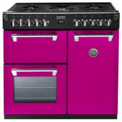 Stoves Richmond 900DFT Colour Boutique 90cm Dual Fuel Range Cooker - Floral Burst