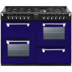 Stoves Richmond 1000DFT Colour Boutique 100cm Dual Fuel Range Cooker - Midnight Gaze