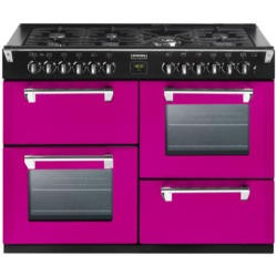 Stoves Richmond 1100DFT Colour Boutique 110cm Dual Fuel Range Cooker - Floral Burst