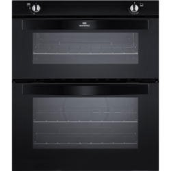 New World NW701G Gas Built-under Twin Cavity Oven Black