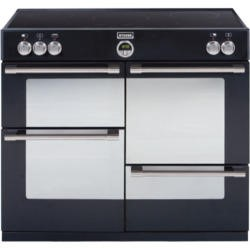 Stoves Sterling 1100Ei 110cm Electric Range Cooker with Induction Hob - Black