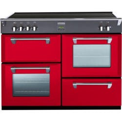 Stoves Richmond 1000Ei Colour Boutique 100cm Electric Range Cooker with Induction Hob in Hot Jalapeno