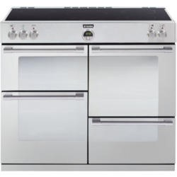 Stoves Sterling 1100Ei Stainless Steel 110cm Electric Range Cooker with Induction Hob