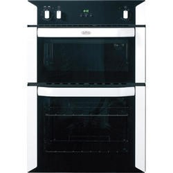 Belling BI90FP Fanned Electric Built-in Double Oven in White