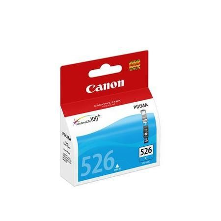 Canon CLI 526C - Ink tank - 1 x cyan - blister with security - for PIXMA iP4850, iP4950, MG5150, MG5250, MG5350, MG6150, MG6250, MG8150, MG8250