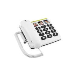 Doro PhoneEasy 331ph Corded Telephone - White