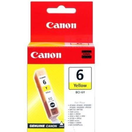 Canon BCI 6Y Ink Tank - Yellow