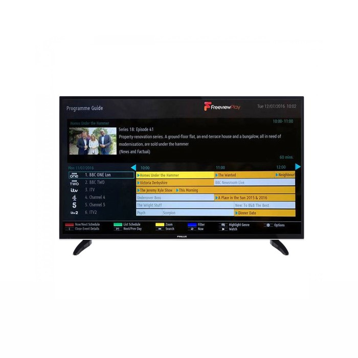 Ex Display - Finlux 49 Inch 4K Ultra HD Smart LED TV with Freeview Play and  Freeview HD plus DTS TruSurround