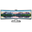 "499P9H Philips 499P9H 49"" Dual QHD SuperWide Curved Monitor"