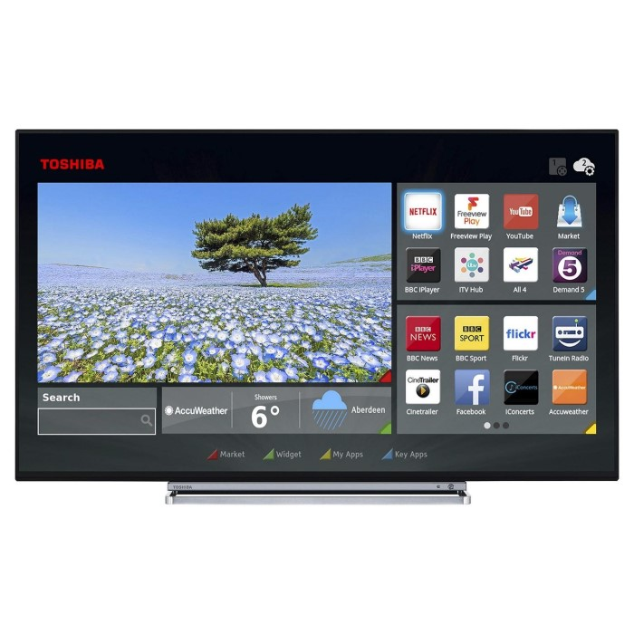 5ea66b01d78 Toshiba 49U5766DB 49 quot  4K Ultra HD LED Smart TV with Freeview HD and  Freeview Play