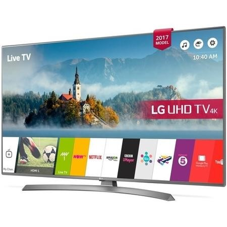 "LG 49UJ670V 49"" 4K Ultra HD HDR LED Smart TV with Freeview Play"