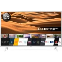 "LG 49UM7390PLC 49"" 4K Ultra HD Smart HDR LED TV with Freeview HD and Freesat - White"
