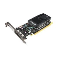 Lenovo NVIDIA Quadro P400 - Graphics card - Quadro P400 - 2 GB GDDR5 - 3 x Mini DisplayPort - for ThinkStation P320 tower P410 tower P510 tower P710 tower P910 tower