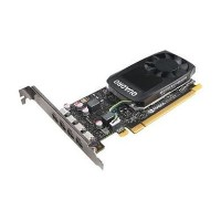 Lenovo NVIDIA Quadro P1000 - Graphics card - Quadro P1000 - 4 GB GDDR5 - 4 x Mini DisplayPort - for ThinkStation P320 P410 30B2 30B3 P510 30B4 30B5 P710 30B6 30B7 P910 30B8 30B9