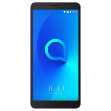 "Alcatel 3C Metallic Black 6"" 16GB 4G Unlocked & SIM Free"