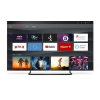 TCL 50 inch Ultra Slim 4K UHD TV with HDR PRO and Freeview TV