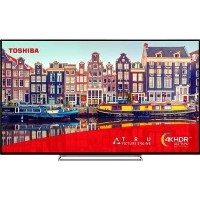 "Refurbished Toshiba 50"" 4K Ultra HD with HDR LED Smart TV"