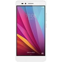"Honor 5X Silver 5.5"" 16GB 4G Dual SIM Unlocked & SIM Free"