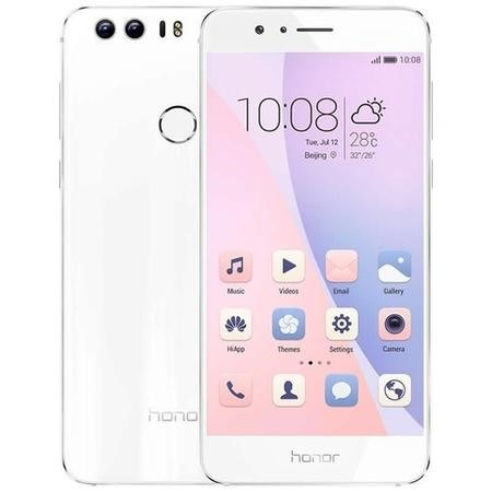 "51090QMH Honor 8 White 5.2"" 32GB 4G Dual SIM Unlocked & SIM Free"
