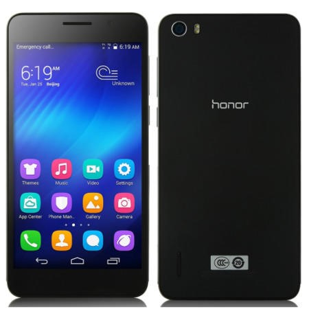 Huawei Honor 6 Black 16GB Unlocked & SIM Free