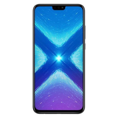 "51092XXF Honor 8X Black 6.5"" 64GB 4G Dual SIM Unlocked & SIM Free"